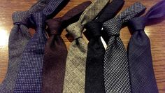 I am very glad to present what is probably the best value in ties right now, as confirmed by numerous buyers who patronized the previous collection. Wool Tie, Bespoke, Flannel, Ties, Board, Accessories, Collection, Fashion, Taylormade