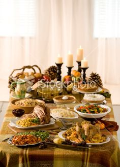 Holiday Buffet Royalty Free Stock Photo