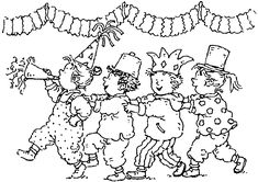 Die 93 Besten Bilder Von Fasching Coloring Pages Colouring Pages