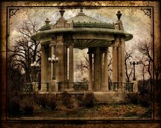 The Muny Gazebo in Forest Park...St. Louis, MO- created by ANDI NORWICH (me) and I give FULL PERMISSION for others to repin this under no penalty from me.