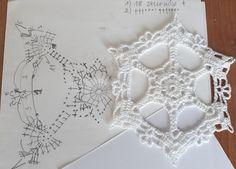 Crochet Snowflake Pattern, Crochet Snowflakes, Crochet Patterns, Crochet Stitches, Knit Crochet, Crochet Christmas Decorations, Crochet Winter, Christmas Projects, Doilies