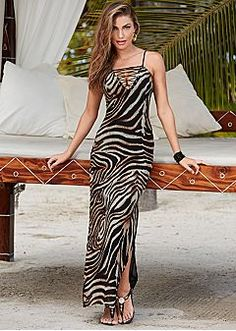 Venus one shoulder maxi dress
