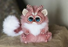 A 23-Year-Old Russian Makes Creepy Yet Adorable Fantasy Dolls