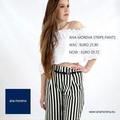 Stripe pants from ana morena. www.anamorena.eu