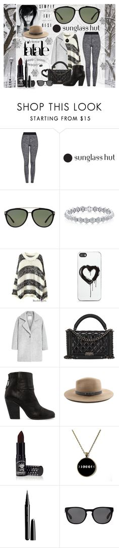 """""""Celebrate in Every Shade with Sunglass Hut: Contest Entry"""" by kaffein ❤ liked on Polyvore featuring Topshop, Versace, Zero Gravity, MANGO, Chanel, rag & bone, Manic Panic, Marc Jacobs and Polo Ralph Lauren"""
