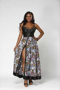 africa style, first photo shoot, ankara with elegant shiny satin fabric, buy it on our website now