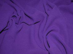 Fabulous Quality Heavy Triple Crepe Designer Dress Fabric - Full Range of Colours Preview