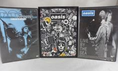 Oasis-3-DVD-Lot-Lord-Dont-Slow-Me-Down-2007-2-Disc-Set-By-The-Sea-amp-Millions