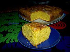 Moje Małe Czarowanie: Drożdżowe ciasto z dynią czyli słoneczne ciasto