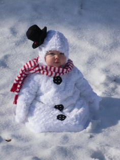 This would be funny to take picture next to a snowman... Christmas card