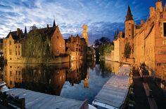 "Relais Bourgondish Cruyce in Belgien, Film ""In Bruges"""
