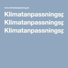 Klimatanpassningsportalen| Klimatanpassningsportalen