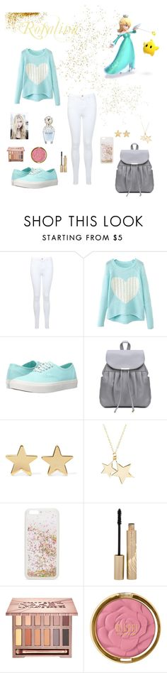 """""""Fall Outfit : Rosalina"""" by dawndreader ❤ liked on Polyvore featuring Nintendo, Miss Selfridge, Vans, Jennifer Meyer Jewelry, Latelita, ban.do, Stila, Urban Decay and Marc Jacobs"""