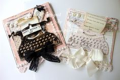 ILuvVintageScrap: Vintage Typewriter Cards - Mothers Day Cards