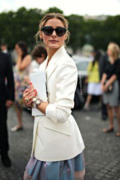 MODELS JAM: Olivia Palermo at Dior haute couture, Paris, June 2013