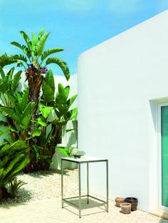 white reef stuhl esszimmer büro garten weiß mit sitzkissen, Garten Ideen
