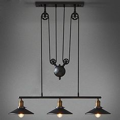 £225 American Country Wrought Iron Chandelier, Industrial Wind Pendant 3 Lights Bulb Included Pendant Light http://www.amazon.co.uk/dp/B012IFP0RC/ref=cm_sw_r_pi_dp_cwrMwb1MWCYTZ