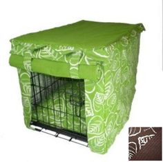 Snoozer Cabana Pet Crate Cover with Pillow Dog Bed Medium Brown Leaf ** Click image for more details.