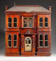 U0027Eleanor Villau0027 Victorian Wooden Dolls House #dollhousefurniture Victorian  Dollhouse, Wooden Dollhouse,