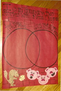 Compare and contrast Three Little Pigs versions