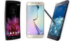Samsung Galaxy S6 edge vs Samsung Galaxy Note Edge vs LG G Flex 2: specs comparison