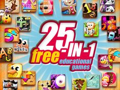 Get 25-in-1 FREE educational games! Wooden puzzles, alphabet, dinosaurs, simple math & more. So why is this app free? Because it's giving you a taste of their apps. After one puzzle you'll go to a screen that allows you to download the full version or go back to main screen. Of course they want you to buy full version - but take a look at Alexandre Minard's page on iTunes. Several of the apps are actually free themselves! Ages 2-6. Download it here: <a href='http://bit.ly/25in1FreeApps'…