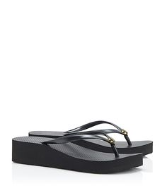 4981a182cd55 Visit Tory Burch to shop for Wedge Flip-flop and more Womens View All. Find  designer shoes