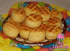 Serbian Recipes, Hungarian Recipes, Hungarian Cuisine, Bread And Pastries, World Recipes, Scones, Muffin, Food And Drink, Baking