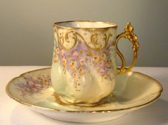 Limoges Cup & Saucer