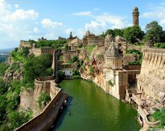The Chittorgarh Fort in India. One of the most awesome pool in the world