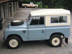 Land Rover Series III SWB 1974.