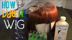 How to: Dye a Wig #cosplay #tutorial #DIY