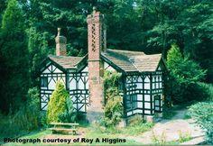 The Tudor gate house at Astley Hall, Chorley. Photograph Roy A Higgins.