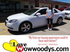 """""""My first car buying experience couldn't have went better."""" Judy G. and Faith P. Rothville, Missouri"""