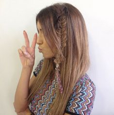 Braids and hair wraps by Circles of Hair