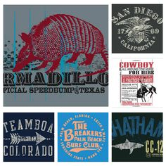 Men's Resort Graphics--Original screen print graphics done for seasonal apparel lines. (see more by clicking image, and then clicking on image again) © Gear for Sports, Inc.