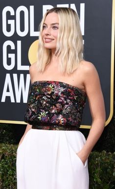 Tumblr Strapless Dress Formal, Formal Dresses, Margot Robbie, Cinema, Beauty, Tops, Women, Pockets, Fashion