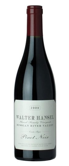 "2009 Walter Hansel ""Cuvee Alyce"" Russian River Valley Pinot Noir - One of the best Pinots ever"