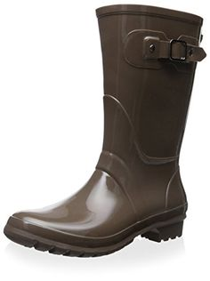 Igor Womens Boira Glow Mini Rain Boot Taupe 37 M EU6 M US -- Click on the image for additional details.