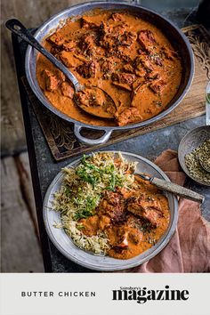 """""""Created by chef Kundan Lal Gujral in Delhi sometime during the 1950s, butter chicken – which is also traditionally known as murgh makhani – is without doubt one of the most popular curries to emerge from India,"""" says chef Aktar Islam. Get the Sainsbury's magazine recipe"""