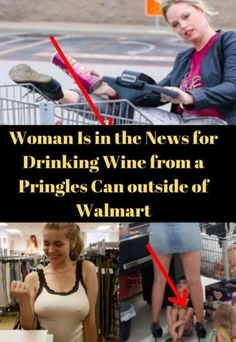 A mysterious woman broke the Internet after being banned from a Walmart for drinking wine from a Pringles can. Yes, you read that right! Pringles Can, Cape Designs, Next Trends, News 8, Government Shutdown, Wtf Fun Facts, Wine Drinks, Cool Girl, Life Is Good