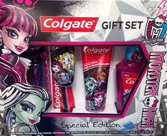 Monster High Toothpaste Toothbrush Gift Set with Mouthwash New   eBay