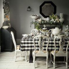 Nordic Charm: Black & White Scandinavian