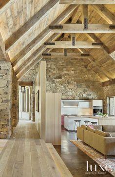 piedra y madera nice
