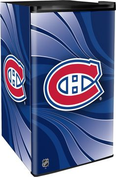 Montreal Canadiens x x Counter Top Refrigerator Montreal Canadiens, Baseball Playoffs, Hockey, Basketball, Mini Fridge, Refrigerator, Can Dispenser, Sliding Shelves, Nhl Games