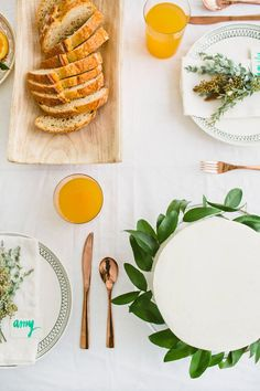 fall table ideas / designlovefest