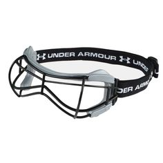 Under Armour Illusion Women's Lacrosse Goggles Flexible frame conforms to your head shape for better comfort and fit Rectangular frame wire gives improved vision in your line of sight Sizes: Adult