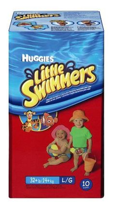 Huggies Little Swimmers Disposable Swimpants, Large, Pack/10