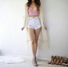 45 best summer outfit ideas that are big on style, low on effort 22 em 2019 Teen Fashion Outfits, Girly Outfits, Cute Casual Outfits, Simple Outfits, Cute Fashion, Outfits For Teens, Pretty Outfits, Stylish Outfits, Pink Fashion