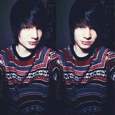 scene boy | Tumblr Cute Emo Guys, Hot Emo Boys, Emo Love, Emo Girls, Adorable Guys, Hot Guys, Scene Guys, Selfies, Emo Scene Hair